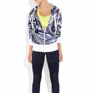 Adidas by Stella McCartney Run printed jacket